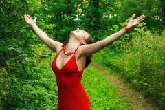 Disfrutar de la vida Imagen de archivo libre de regalías