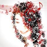Disfrute de la melodía de la música para la vida 02 Fotos de archivo libres de regalías