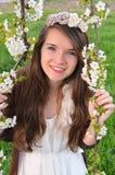 Disfrute de la primavera Foto de archivo libre de regalías