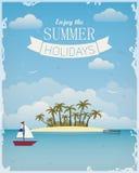 Disfrute de las vacaciones de verano Fotografía de archivo libre de regalías