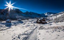 Disfrute de su viaje del invierno Fotografía de archivo libre de regalías