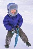 Disfrute del invierno Fotografía de archivo libre de regalías