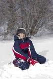 Disfrute del invierno Fotos de archivo libres de regalías