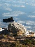 Disgelo della primavera Fotografie Stock