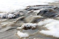 Disgelo della primavera Fotografie Stock Libere da Diritti
