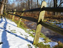 Disgelo di dicembre fotografia stock