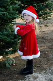 Disgruntled little elf Stock Photo
