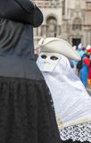 Disguised Couple - Venice Carnival 2014 Royalty Free Stock Photography