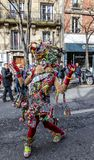 Disguised Person - Carnaval de Paris 2018 royalty free stock images