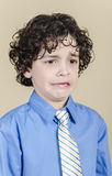 Disgust Expression. Latin boy makes a disgust expression Stock Images