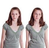 disgusted предназначенное для подростков Стоковые Изображения