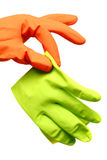 Disgusted Glove Royalty Free Stock Photo