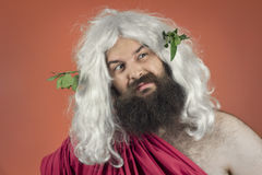 Disgusted Zeus Stock Image