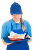 Disgusting Fast Food Meal Royalty Free Stock Photo