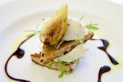 dish еда смоквы Стоковая Фотография