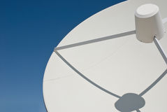 Dish. Satellite dish against a blue sky Stock Images
