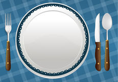 A dish Royalty Free Stock Image