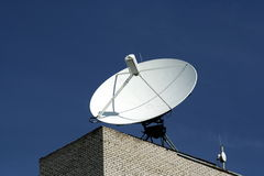 Dish aerial antenna 3 Royalty Free Stock Images