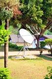 Dish aerial or Satellite dish Stock Images