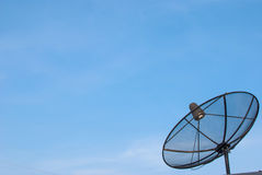 Dish antenna for all tv. Dish antenna for all digital tv Royalty Free Stock Images