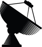 Dish Antenna Royalty Free Stock Images