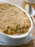 Dish of Apple Crumble Royalty Free Stock Photo