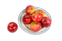 Dish of Apples Royalty Free Stock Photography