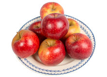 Dish of Apples Stock Photos