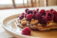 Dish, Breakfast, Dessert, Meal Royalty Free Stock Photos