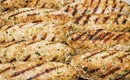 Dish Caucasian cuisine - shish kebab Royalty Free Stock Image