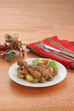 Dish for christmas Stock Photos