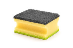 Dish clean sponge Royalty Free Stock Photos