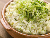 Dish of Colcannon Royalty Free Stock Photos