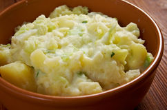 Dish of Colcannon potato Royalty Free Stock Photos