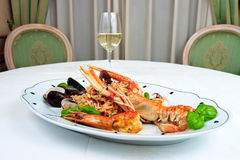 Dish of crab Royalty Free Stock Photography