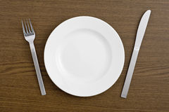 Dish and cutlery Stock Photos