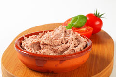 Delicious pate Stock Photography