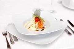 Dish of fish Stock Photo