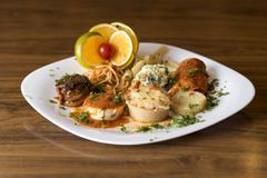 Dish, Food, Cuisine, Appetizer royalty free stock photo