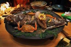 Dish, Food, Seafood, Cuisine royalty free stock photo