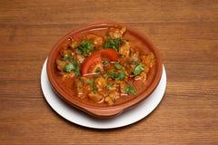 Dish of georgian cuisine royalty free stock photography