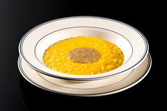 Dish of Italian risotto with marrow Royalty Free Stock Image