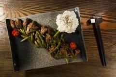 Dish of Japanese cuisine Stock Photos