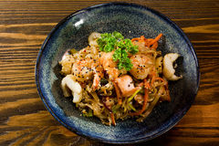 Dish of Japanese cuisine Royalty Free Stock Images