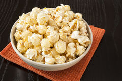 Dish of Kettle Corn Royalty Free Stock Image