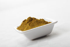 Dish with khmeli suneli spice mixture Stock Photography