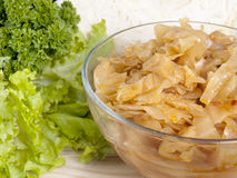 Boiled cabbage Royalty Free Stock Photos
