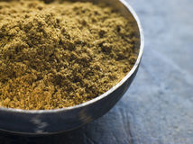 Dish of Madras Curry Powder Royalty Free Stock Photos