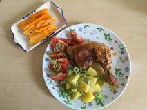 Dish, Meal, Food, Fried Food stock image