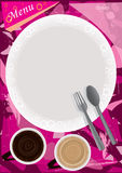 Dish Menu_eps Royalty Free Stock Photos